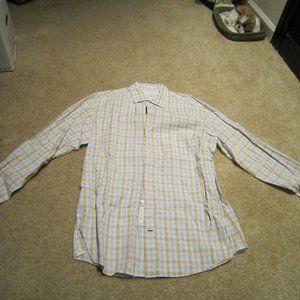 Banana Republic Men's Fitted Dress Shirt